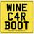 WINE CAR BOOT