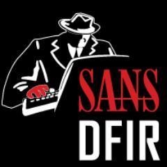 SANS DFIR Social Profile