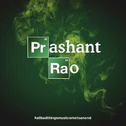 Prashant  Rao Social Profile