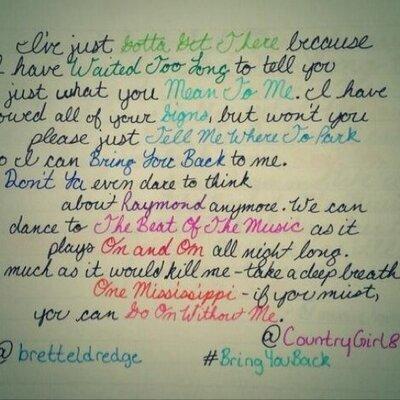 #BringYouBack   Social Profile