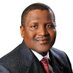 Aliko Dangote's Twitter Profile Picture