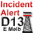 Twitter result for Dixons from IncidentAlert13
