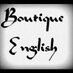 Boutique English 's Twitter Profile Picture