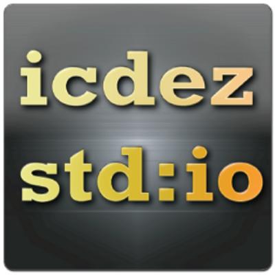 icdez std:io