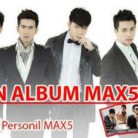 1st Album #MAX5IMUM   Social Profile