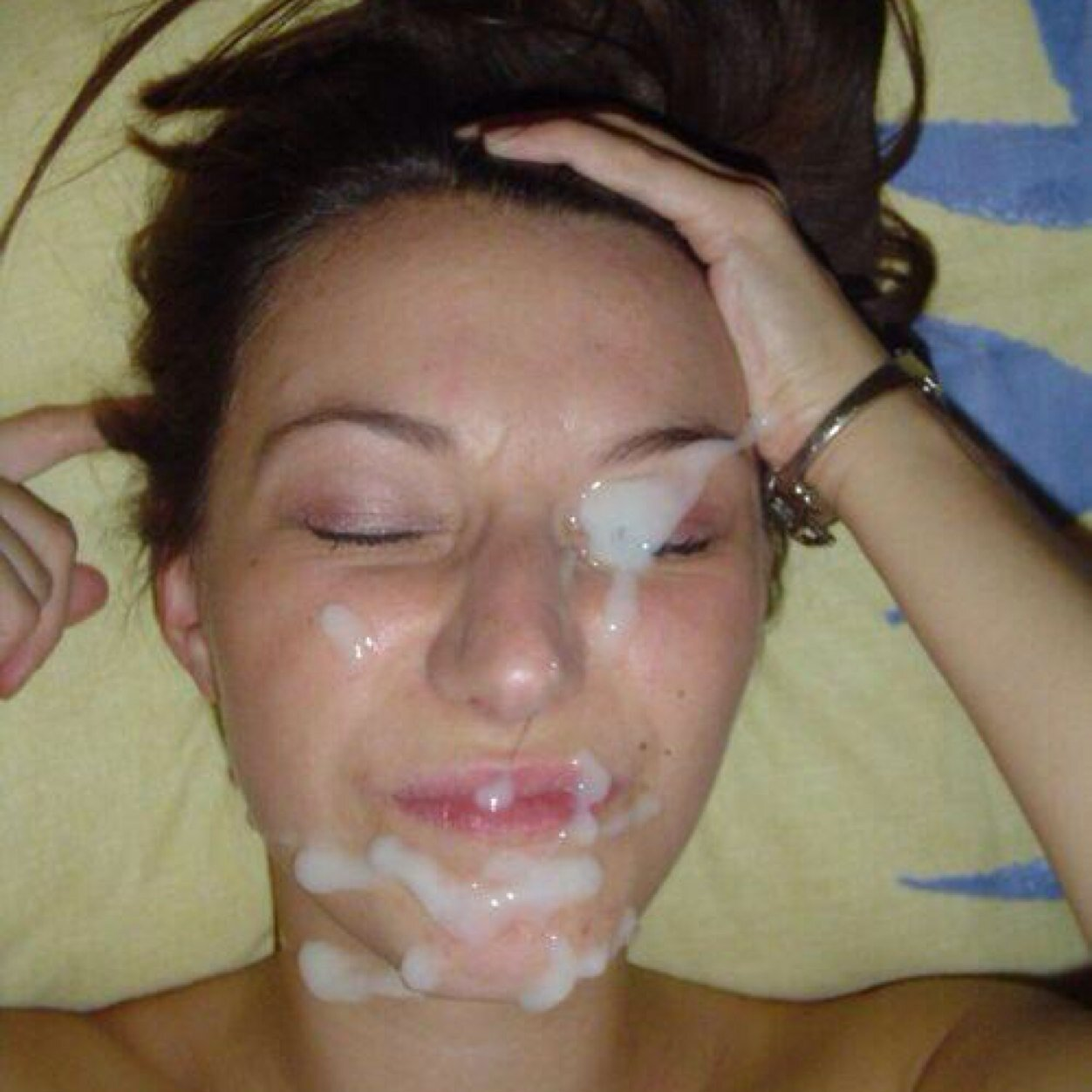 Спеерма на губах 6 фотография