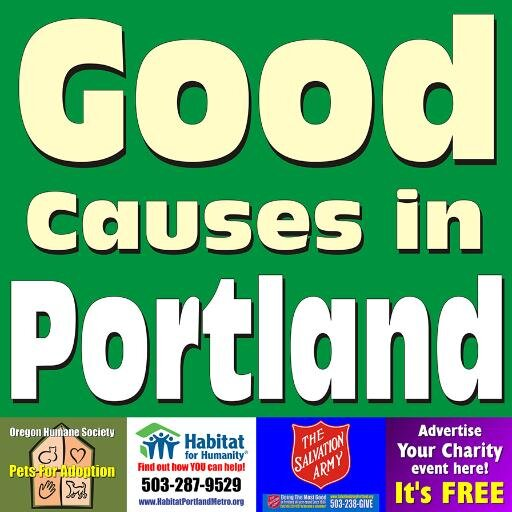 Good Causes Portland Social Profile