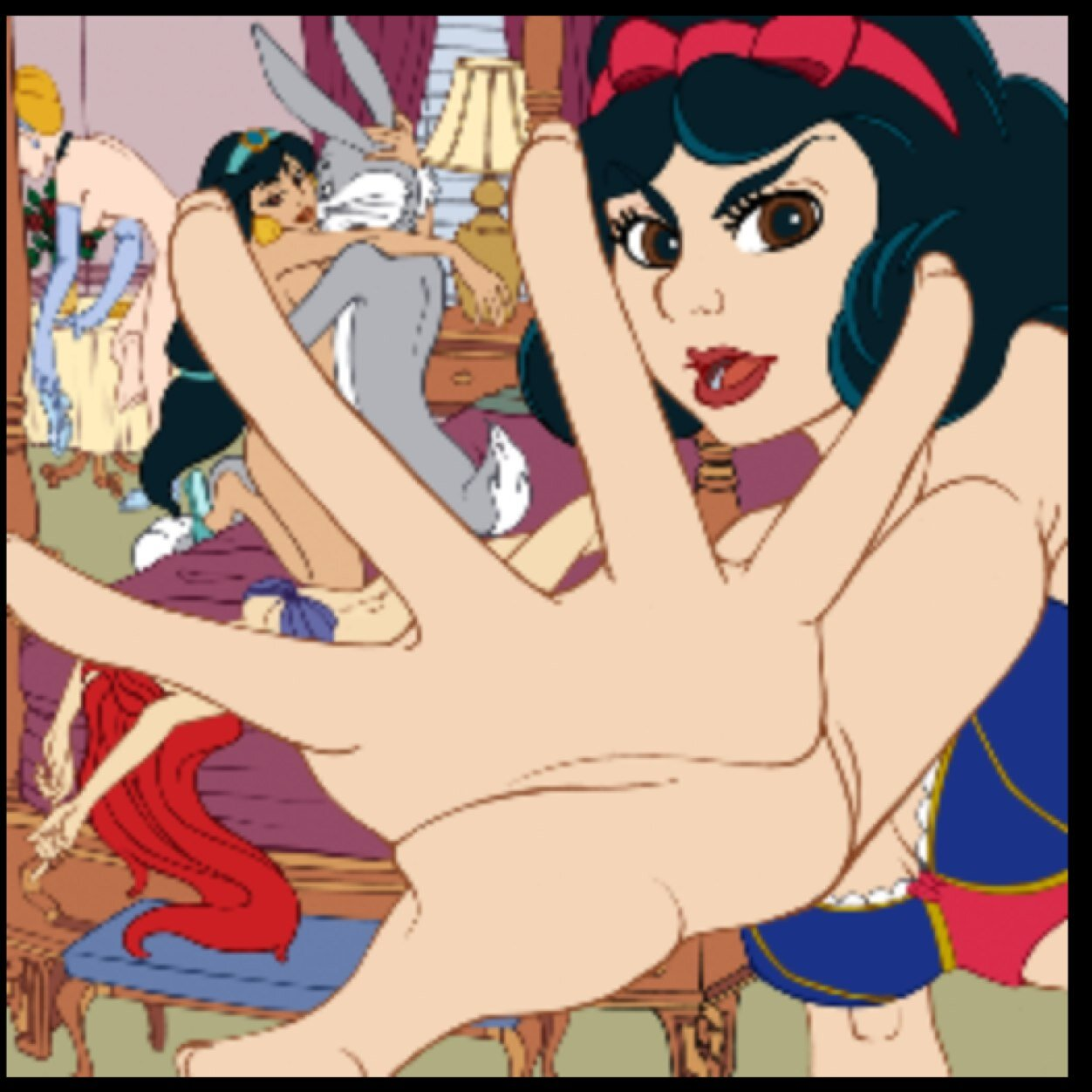 Dirty disney princessprn hentai film