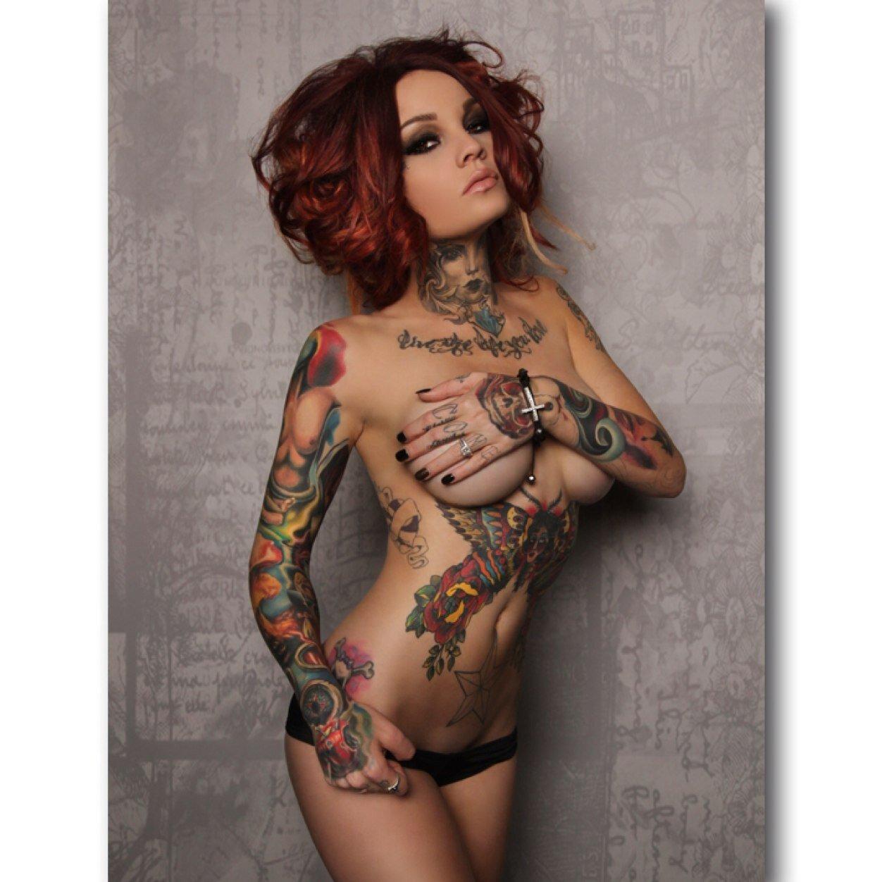 Фото Обнаженных Татуированных Девушек