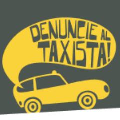 Denuncie al Taxista Social Profile