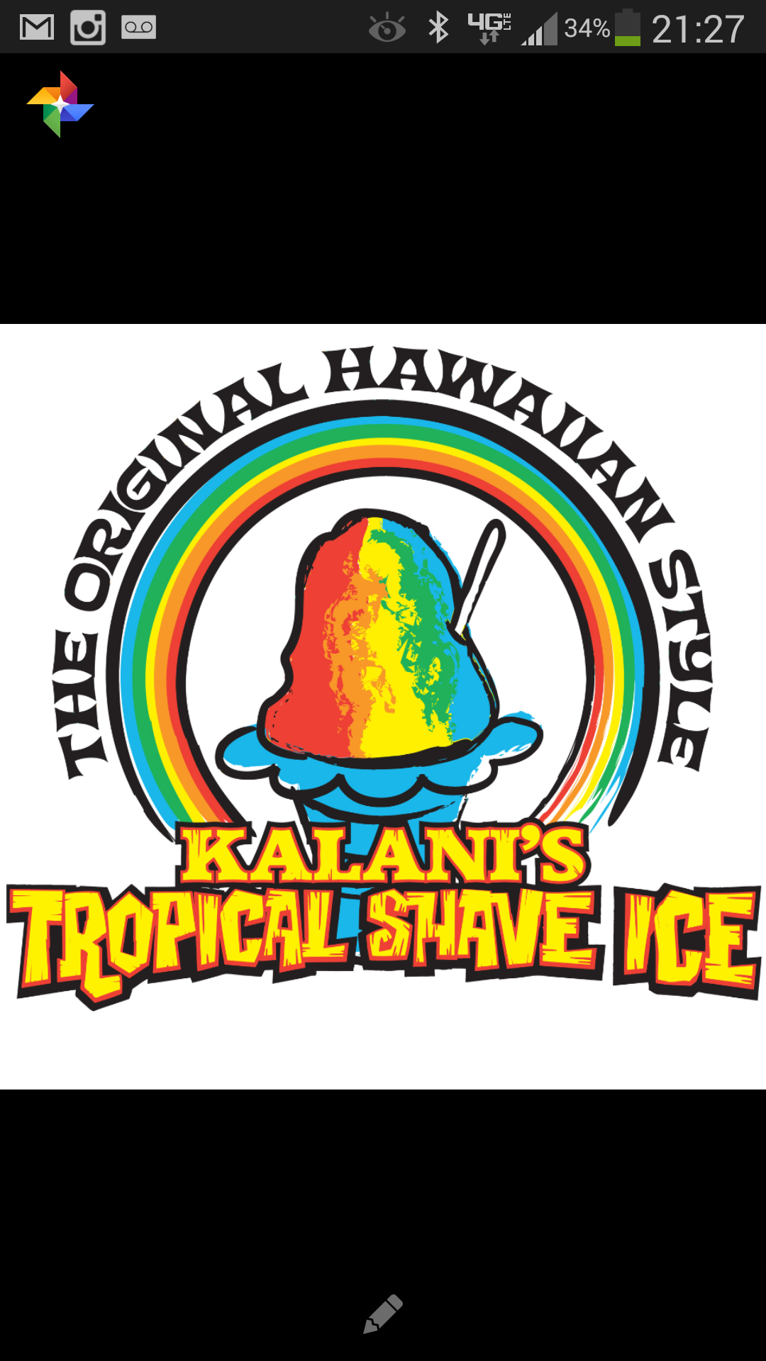 K Tropical Shave Ice Social Profile