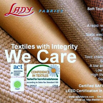 LADY Fabrics Corp. | Social Profile