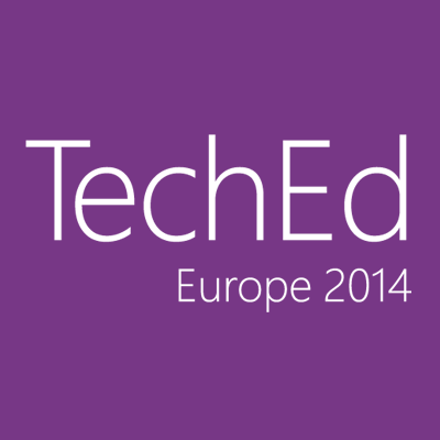 Microsoft TechEd Europe 2014