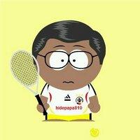 ひでパパ@テニス病?!(^^;) | Social Profile