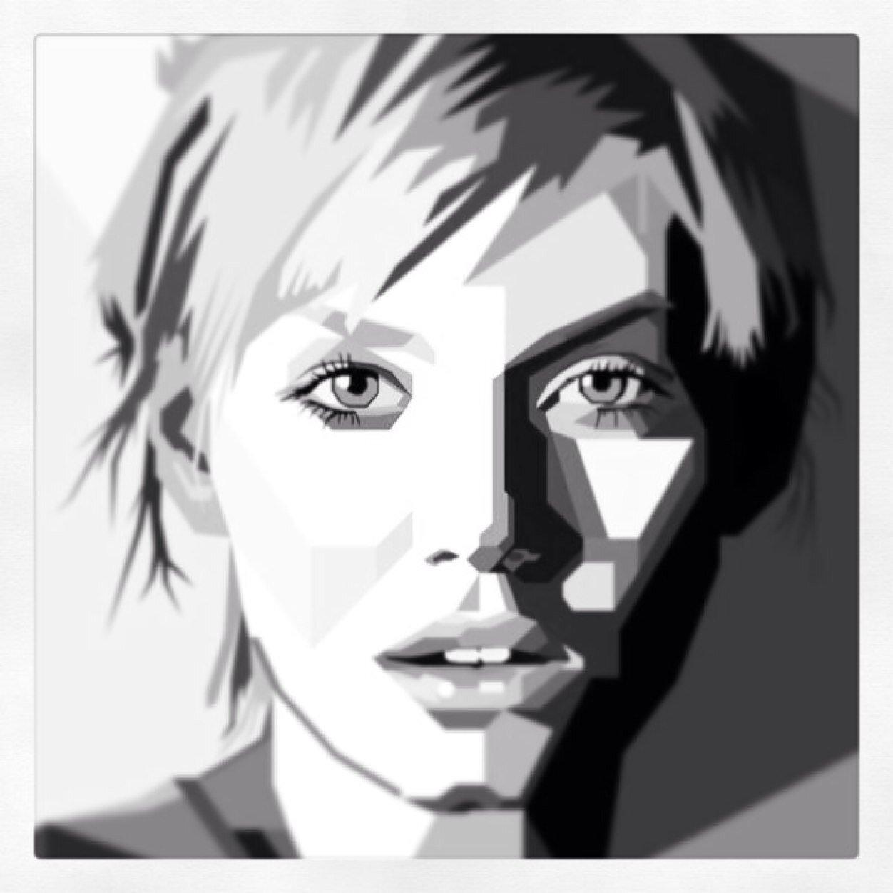 Себе подборочка!!!!!!! фотошоп поп арт портрет моему Вас