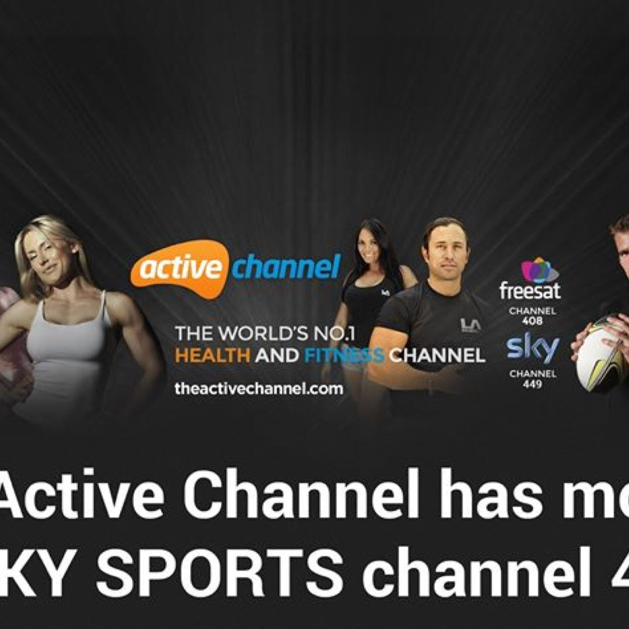 The Active Channel Social Profile