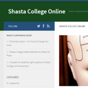 Shasta College Onlin