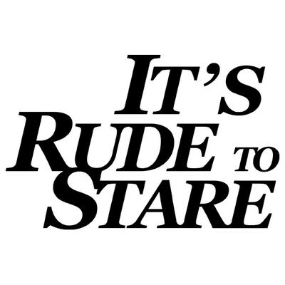 Its Rude To Stare | Social Profile