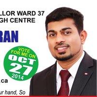 Photo of Niranjan Balachandran from Twitter