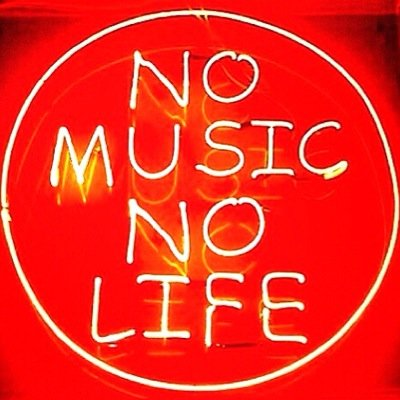no music, no life | Social Profile