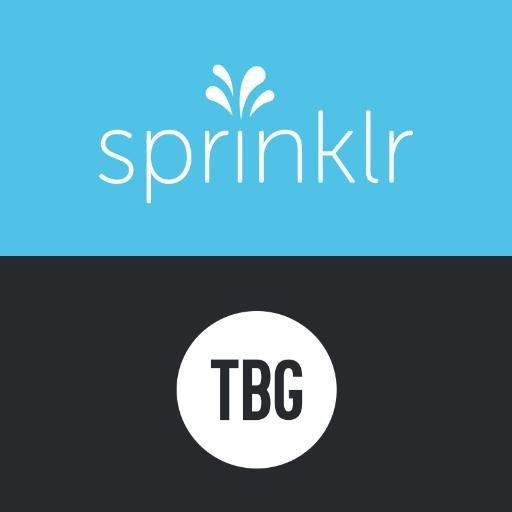 TBG (Sprinklr) Social Profile