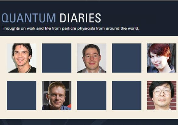 Quantum Diaries Social Profile