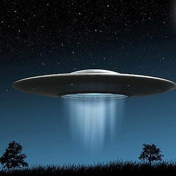 A term originally coined by the military, an unidentified flying object (usually abbreviated to ufo