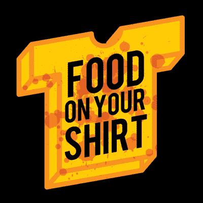 foodonyourshirt | Social Profile