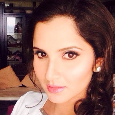 Follow Sania Mirza Twitter Profile