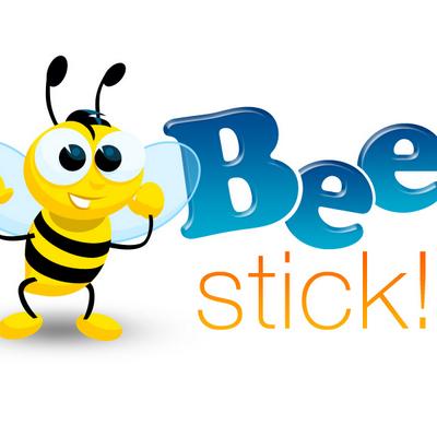 Sticker Beestick