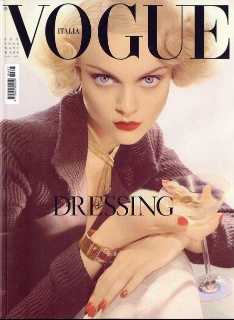 Italian Vogue's Twitter Profile Picture