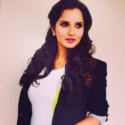 Follow Sania Mirza Twitter Profile