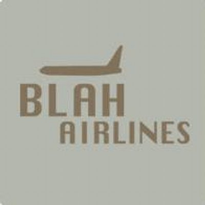 BLAH Airlines   Social Profile