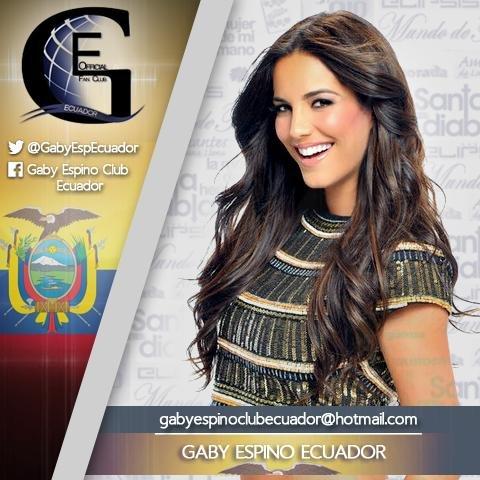 Gaby Espino Club Social Profile