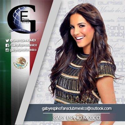 Gaby Espino México Social Profile