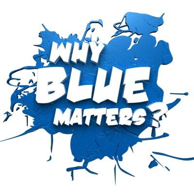 Blue. On Everything. Social Profile