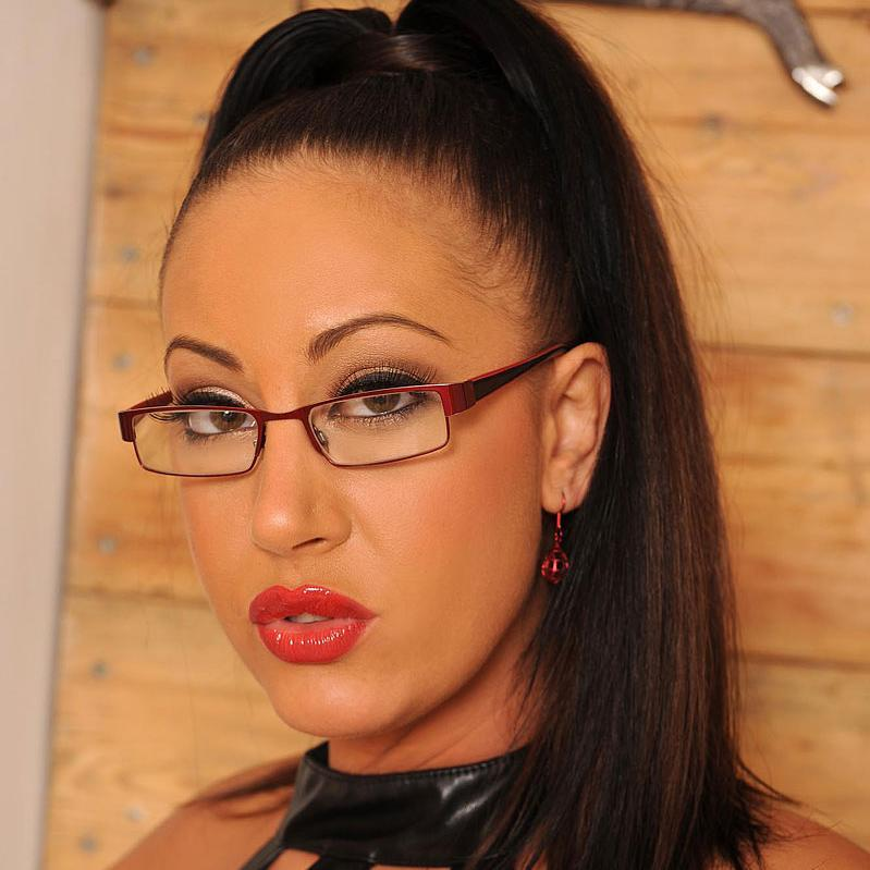 Glasses attired European cougar Emma Butt unleashing monster tits  218468