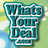 WhatsYourDeal profile
