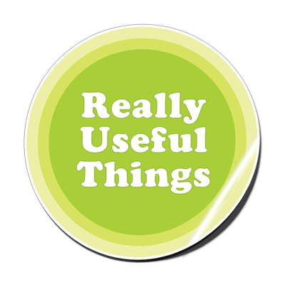 Really Useful Things | Social Profile