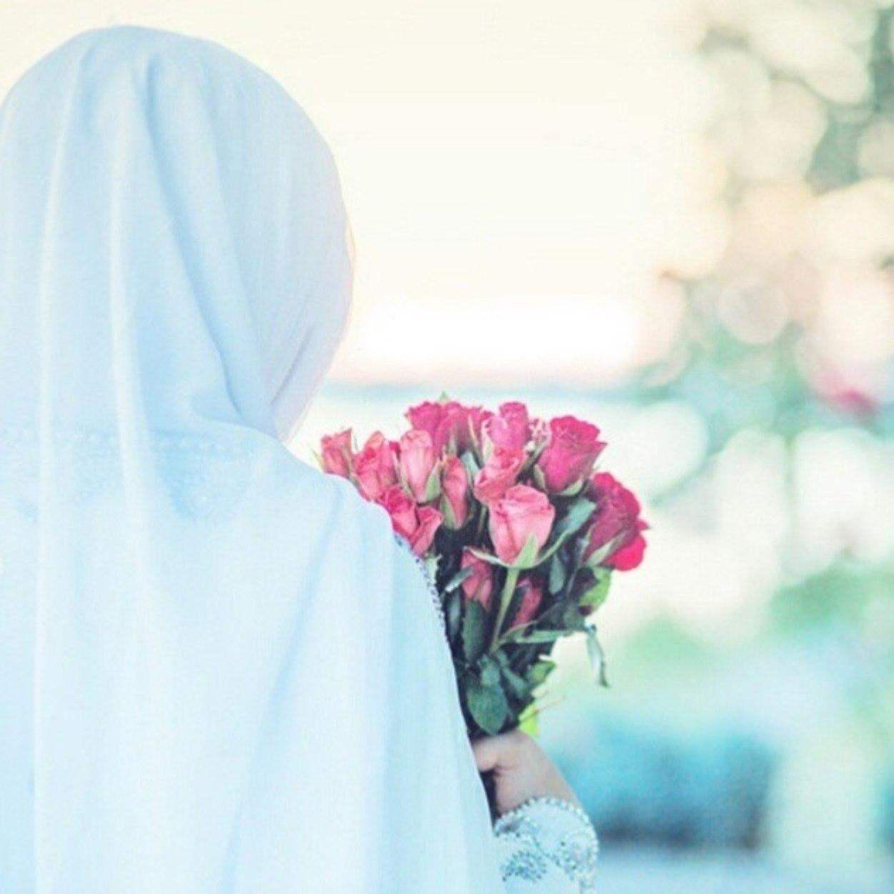 Фото исламских девушек без лица