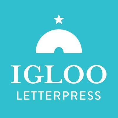 Igloo Letterpress | Social Profile