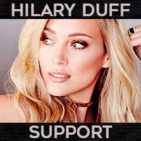 Hilary Duff Support | Social Profile