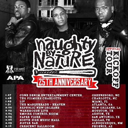 Naughty by Nature Social Profile