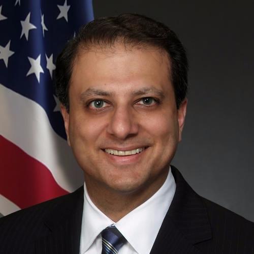 US Attorney Bharara  Twitter Hesabı Profil Fotoğrafı