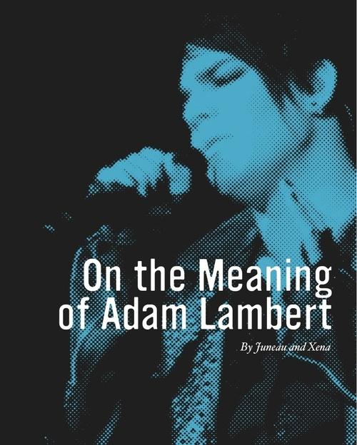 Adam Lambert Salon Social Profile
