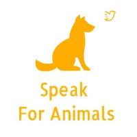 Speak For Animals | Social Profile