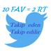 10fav = 2rt's Twitter Profile Picture