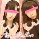 りえぽん(左)@裏アカ