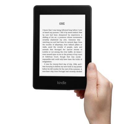 Čtečky Kindle