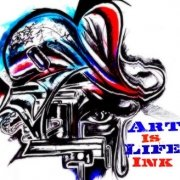 Art Is Life Ink.